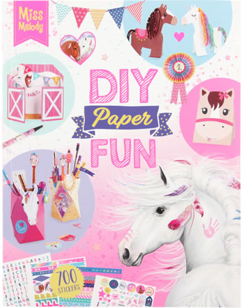 Miss Melody DIY Paper Fun Book