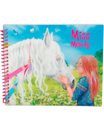 Miss Melody Dress up your Horse livre à colorier