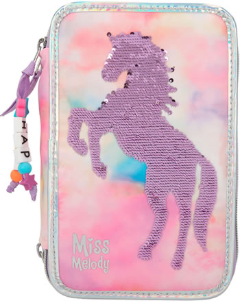 Miss Melody Pencil case with three parts and filling BATIK 11074