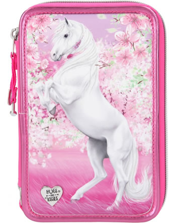 Miss Melody Pencil case with three parts and filling CHERRY BLOSSOM 11424