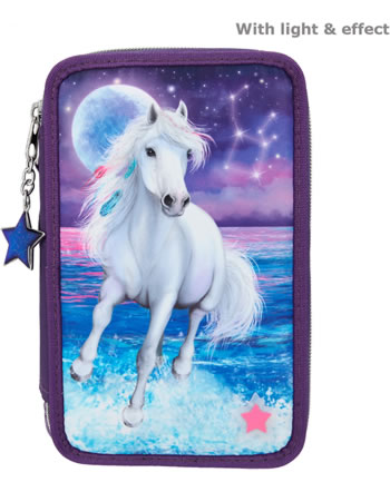 Miss Melody Pencil case with three parts and filling LED NORTHERN LIGHTS 11255
