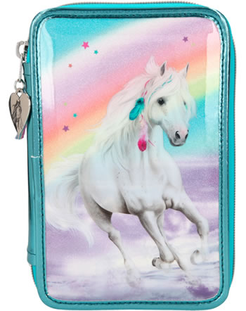 Miss Melody Pencil case with three parts and filling RAINBOW 11055
