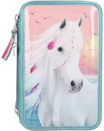 Miss Melody Pencil case with three parts and filling SUMMER SUN 11437