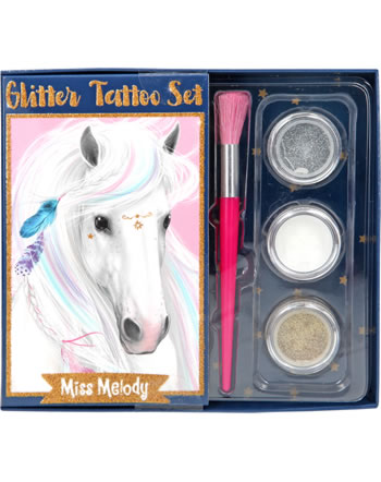 Miss Melody Glitzer Tattoo Set