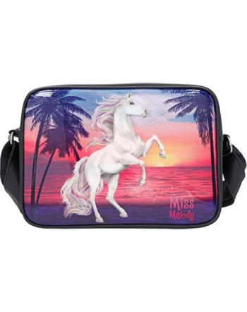 Miss Melody Large shoulder bag GLITTER OCEAN