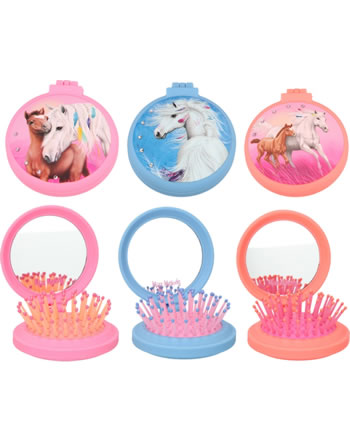 Miss Melody Hairbrush with mirror 8749/D