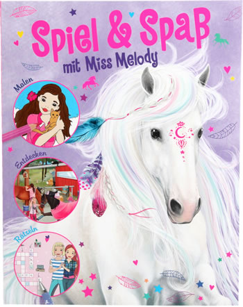 Miss Melody Activity book - version allemande
