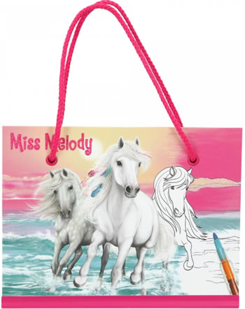 Miss Melody Malbuch mit Steckbuntstift 11040