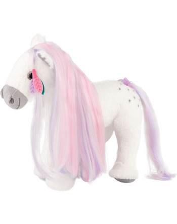 Miss Melody plush horse with mane to comb 27 cm
