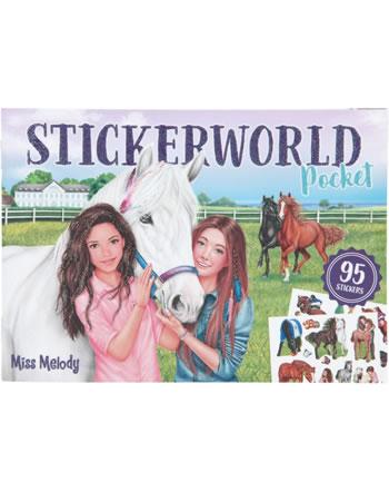 Miss Melody Pocket Sticker World Traumpferde 10131-C