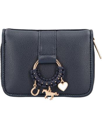 Miss Melody purse imitation leather blue