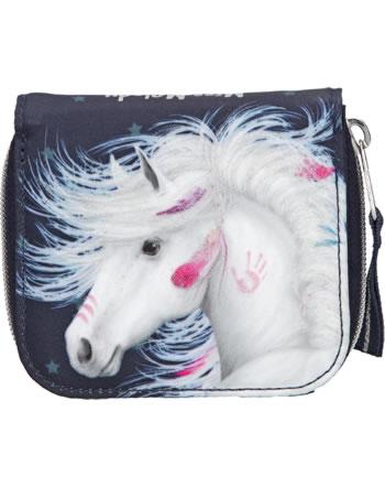 Miss Melody purse deam horse blue