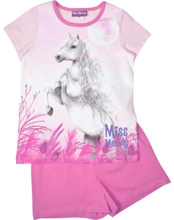 Miss Melody Pyjama short sleeve DREAM HORSE pink lady 98808-832