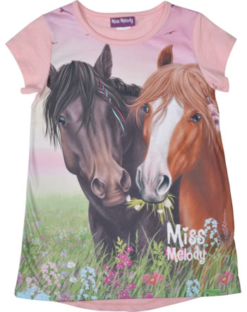 Miss Melody T-shirt manches courtes DEUX CHEVAUX candy pink 84011-853