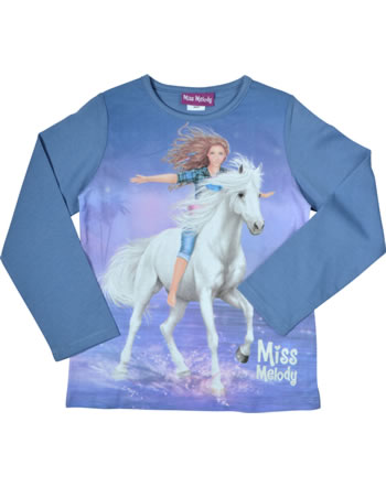 Miss Melody T-Shirt Langarm colony blue 84015-771