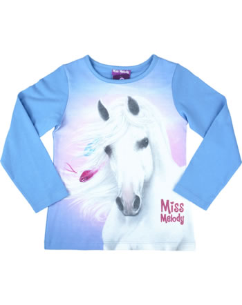 Miss Melody T-shirt manches longes cheval blanc blue bonnet 84062-744