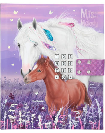 Miss Melody Journale avec code secret 2 horses 11419