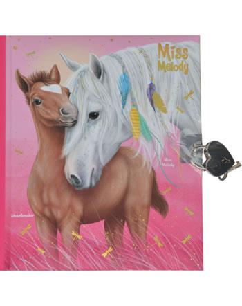 Miss Melody Tagebuch mit Stickern 11020