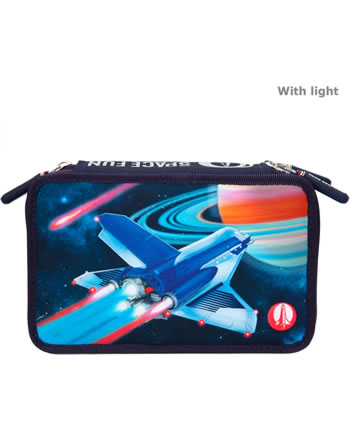 Monster Cars pencil case with filling LED SPACE 11387