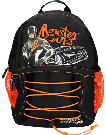 Monster Cars Rucksack schwarz