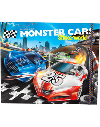 Monster Cars Stickerworld Stickerbuch