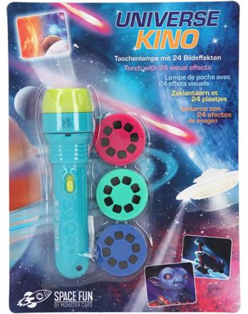 Monster Cars Taschenlampe mit 24 Bildeffekten SPACE FUN 5668