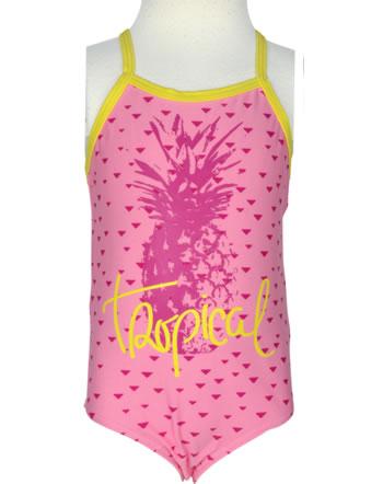 name it Badeanzug NITZIMNA Mini Tropical flamingo pink 13140098