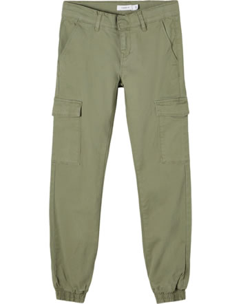name it Cargo-Hose Ancle NKFSEA TWITHILSES deep lichen green 13190262