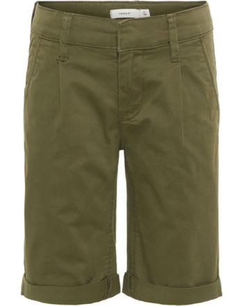 name it Chino Long-Shorts NKMRYAN TWIBACH ivy green 13161857