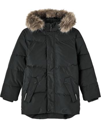 name it Daunen Winter-Jacke Kapuze NKMMAXIM black 13192787