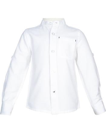 name it Hemd Langarm NMMFISH bright white 13175701
