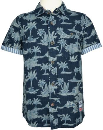 name it Hemd T-Shirt Kurzarm NKMFERIE dark sapphire13175065