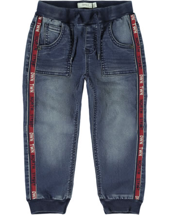 name it Jeans-Hose Baggy NMMBOB DNMATOLLY dark blue denim NOOS 13174630