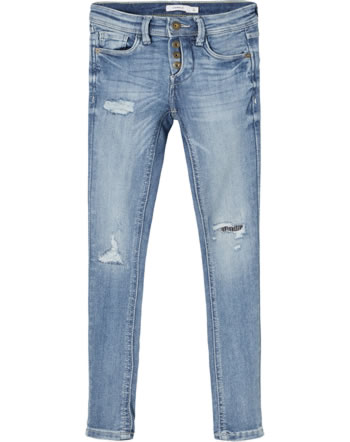 name it Jeans Pants NKMPETE DNMTARTYS 1453 light blue denim 13185466