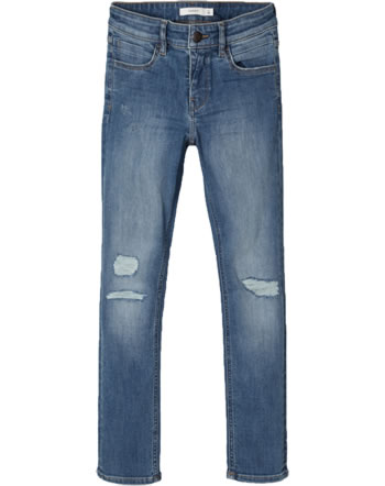 name it Jeans-Hose NKMTHEO DNMTBATIN NOOS medium blue denim 13179421