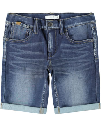 name it Jeans-Longshorts NKMSOFUS NOOS dark blue denim 13185219