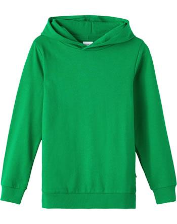 name it Kapuzen-Sweatshirt NKMNESWEAT NOOS green tambourine 13202109