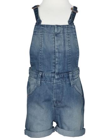 name it Mädchen Latz-Shorts Denim NITBALMI Mini medium blue denim 13140079