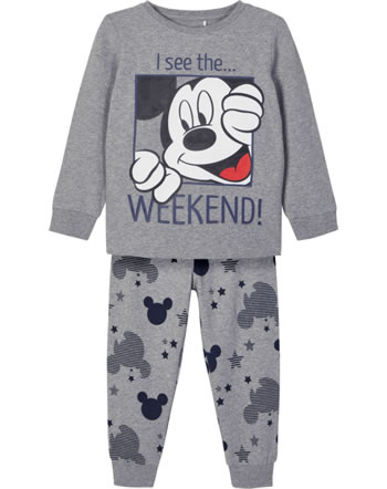 Name it Pajamas NMMMICKEY CAPPER grey melange 13183363