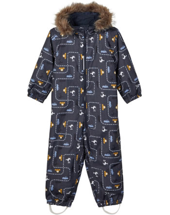 name it Hooded snow suit NMMSNOW08 CAR ombre blue 13177601
