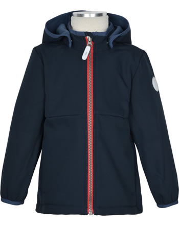 name it Softshell Jacket hooded NMMMALTA dark sapphire 13191114