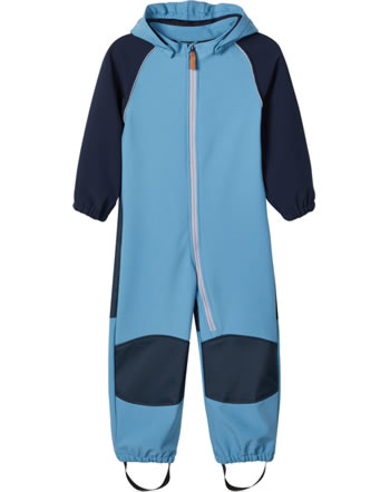 name it Softshell-Overall NMMALFA BIONIC FINISH® ECO blue heaven 13171036