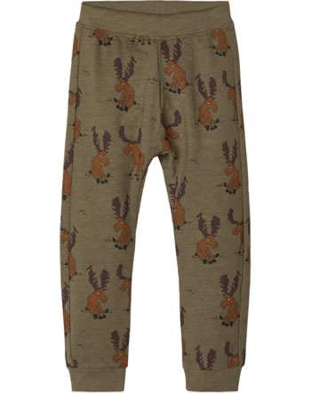 name it Sweat-Hose Jogginghose NMMRUBBS ivy green 13186587