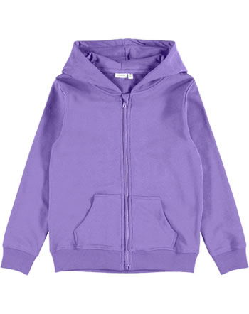 name it Veste avec capuche NKFNASWEAT NOOS dahlia purple 13197666