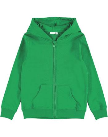 name it Veste avec capuche NKMNESWEAT NOOS green tambourine 13197665