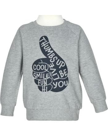name it Sweatshirt NMMVION grey melange 13192373