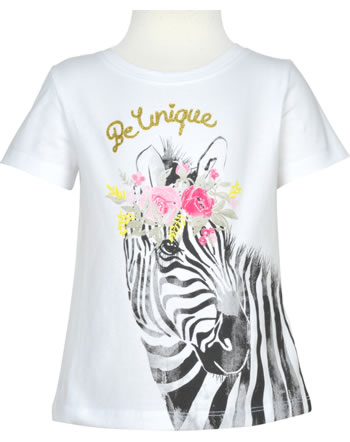 name it T-shirt manches courtes NMFJAZEBRAER bright white 13178282