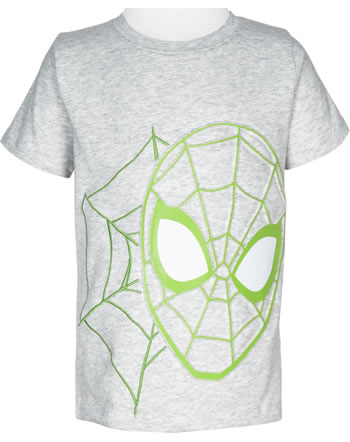name it T-shirt à manches courtes NMMSPIDERMAN PETRUS light grey melange 13178599