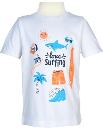 name it T-shirt à manches courtes NMMVUX bright white 13177410