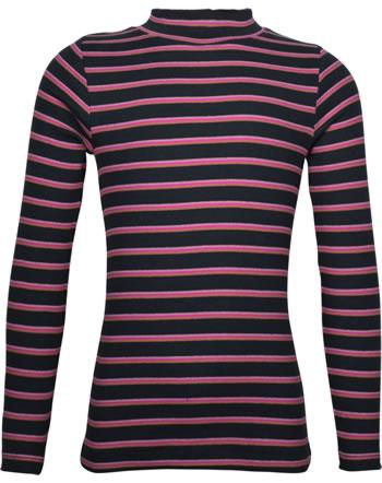 name it T-Shirt long sleeve NKFNAFINA stripe dark sapphire 13180381